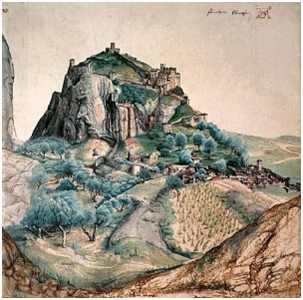 il castello di Arco nelle stampe