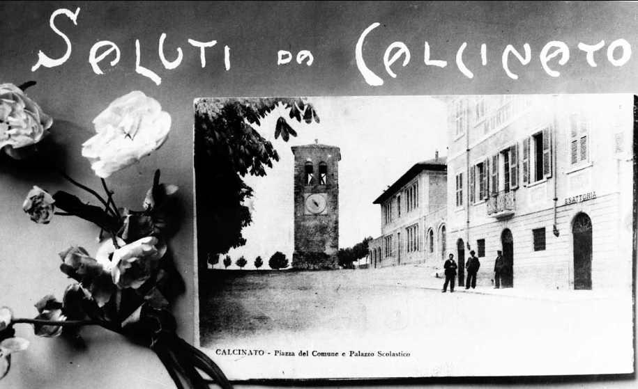 CALCINATO IN VECCHIA CARTOLINA