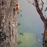 arrampicare al lago di garda