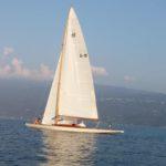 veleggaire sul lago di Garda