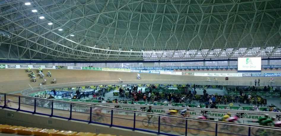 ciclismo su pista al velodromo di Montichiari