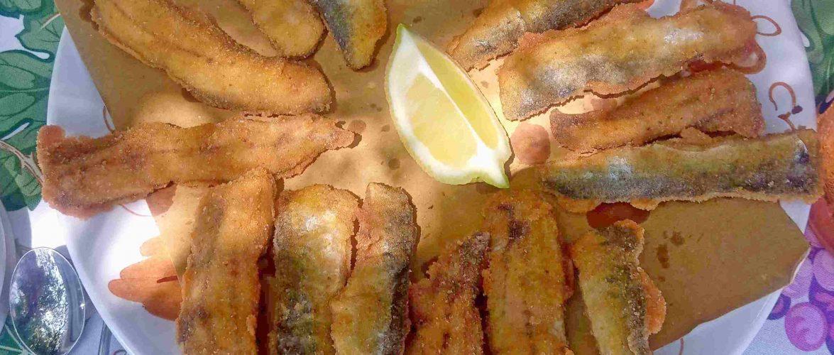 agoni  sarde fritti
