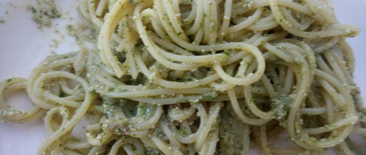 spaghetti alle uova di sarda