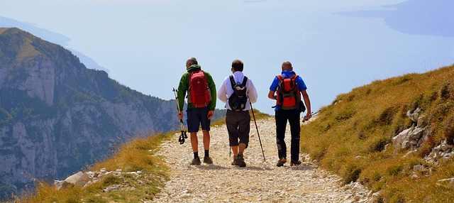 escursionismo e nordic walking sul Garda