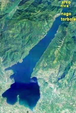 paesi del lago trentino