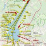 mappa sintentica venti lago di garda