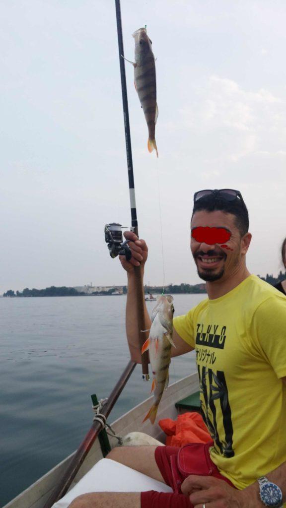 pesca al pesce persico