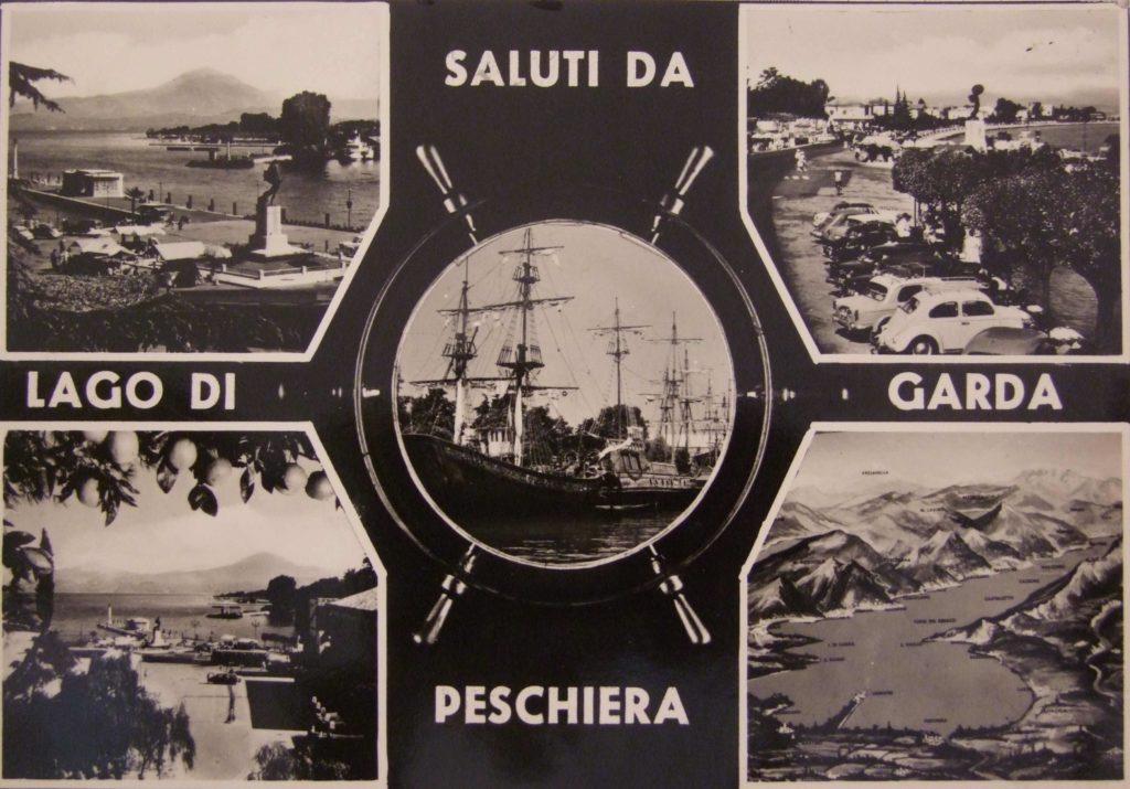 antichi galeoni sul lago di Garda